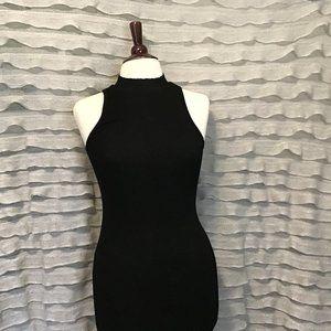 Black body con midi dress